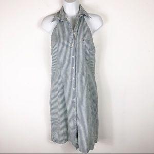 Tommy Hilfiger Vintage Collared Halter Dress